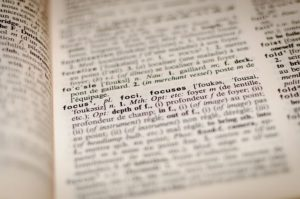 words, dictionary, English